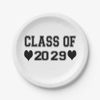 Assiettes En Papier Classe de jardin d'enfants de 2029