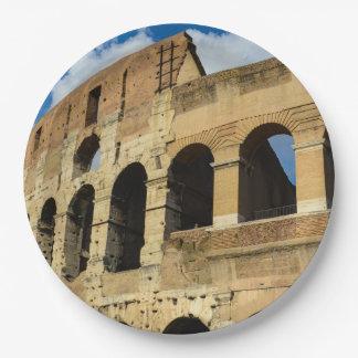 Assiettes En Papier Colosseum à Rome, Italie
