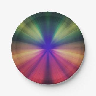 Assiettes En Papier Éclair spectral