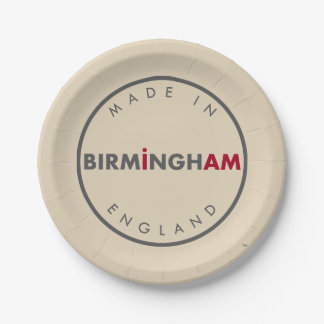 Assiettes En Papier Fait dans des plaques à papier de Birmingham