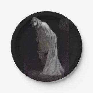 Assiettes En Papier Fantôme gothique