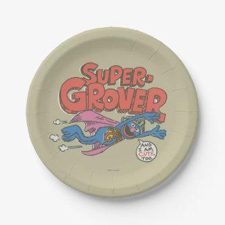 Assiettes En Papier Le cru de Grover badine 1