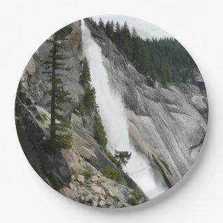 Assiettes En Papier Le Nevada tombe au parc national de Yosemite