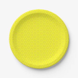 Assiettes En Papier Motif jaune citron brillant de Sunshine Stars