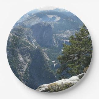 Assiettes En Papier Mountain View de Yosemite en parc national de