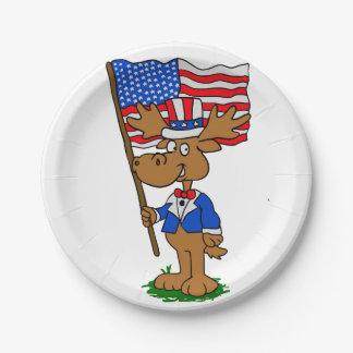 Assiettes En Papier Orignaux de patriote
