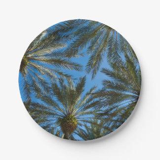 Assiettes En Papier Parapluie de palmiers