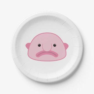 Assiettes En Papier Plaques à papier de Blobfish