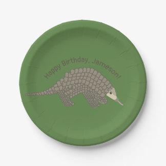 Assiettes En Papier Plaques à papier de fête d'anniversaire de