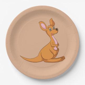 Assiettes En Papier Plaques à papier de kangourou