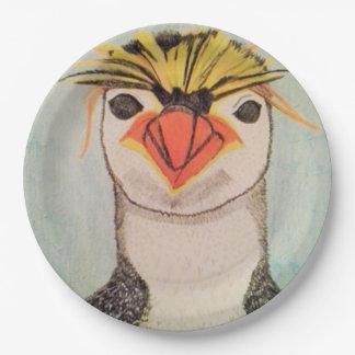 Assiettes En Papier Plaques à papier de pingouin