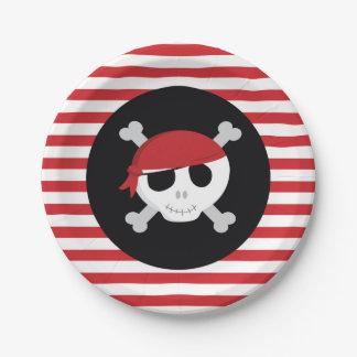 Assiettes En Papier Plaques à papier de pirate