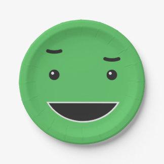 Assiettes En Papier Plaques à papier souriantes mignonnes 5/9