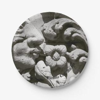 Assiettes En Papier Plaques de rôle pierre Alicante