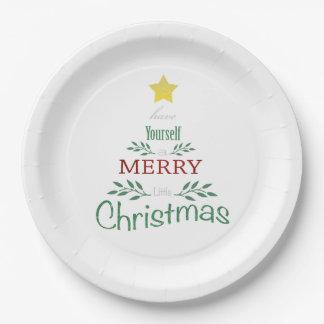 Assiettes En Papier Plats de Noël