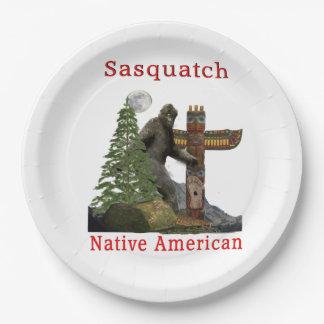 Assiettes En Papier produits de sasquatch