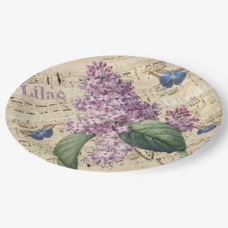 Assiettes En Papier Rêve lilas