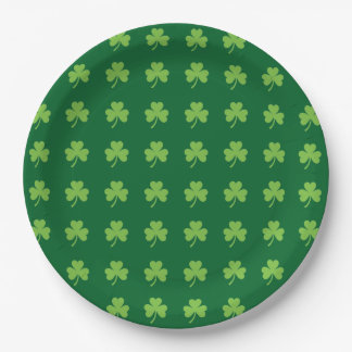 Assiettes En Papier Shamrocks