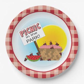 Assiettes En Papier Un pique-nique de la Réunion | en parc | toute