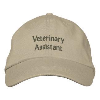 Assistant vétérinaire casquettes brodées