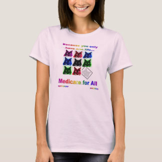 """""""Assurance-maladie-pour-Tout"""" T-shirt"""