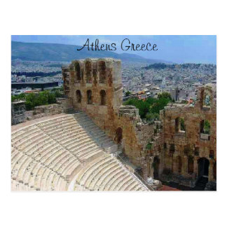 Athènes Grèce le Colosseum Carte Postale