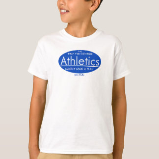 Athlétisme central minuscule de Tim T-shirt