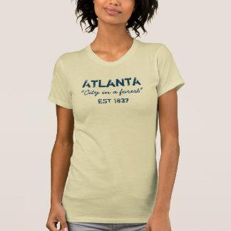 Atlanta - ville dans une forêt - T-shirt