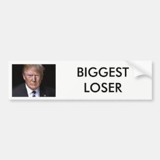 """Atout d'anti-Donald du """"plus grand perdant"""" Autocollant De Voiture"""