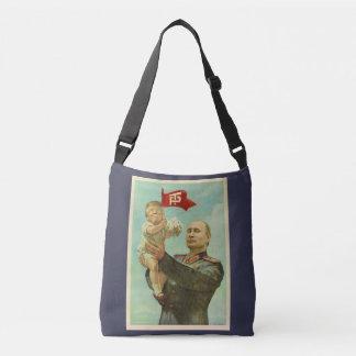 Atout de bébé avec le sac de Poutine