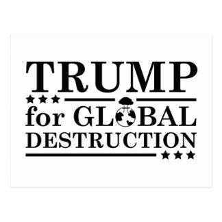 Atout pour la destruction globale carte postale
