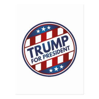 Atout pour le président cartes postales