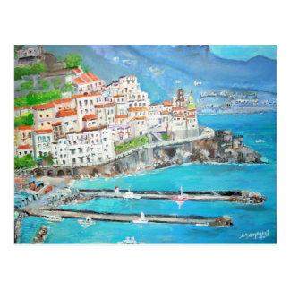 Atrani, Italie - carte postale