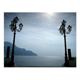 Atrani, près d'Amalfi, l'Italie en Europe Carte Postale
