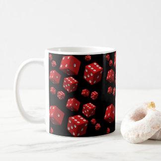 attaque les matrices rouges mug blanc