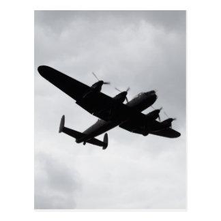 Atterrissage de bombardier de Lancaster Carte Postale