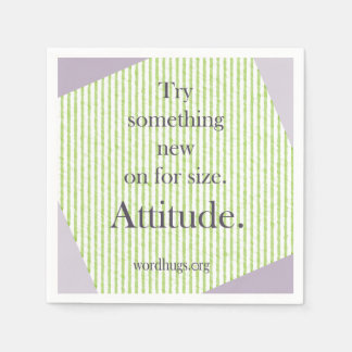 Attitude Serviette Jetable