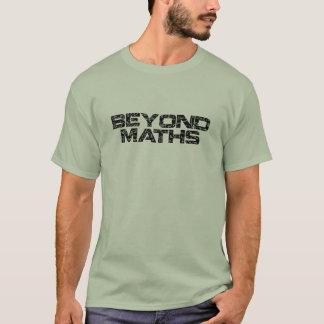 Au delà des maths t-shirt