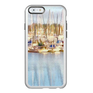 Au-dessus de et ci-dessous coque iPhone 6 incipio feather® shine