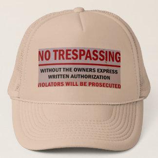 aucun casquette de infraction