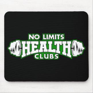 Aucun tapis de souris de clubs de santé de limites