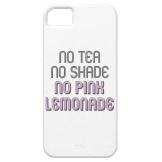 Aucun thé aucune nuance aucun cas rose de coques iPhone 5 Case-Mate