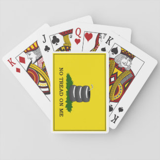 Aucune bande de roulement sur moi - cartes cartes à jouer