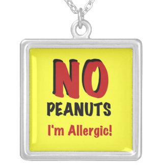 AUCUNES arachides je suis allergique Pendentifs