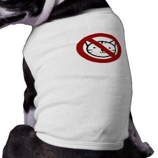 Aucuns chats permis la pièce en t de chien t-shirt