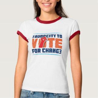 Audace à voter pour le T-shirt de sonnerie de