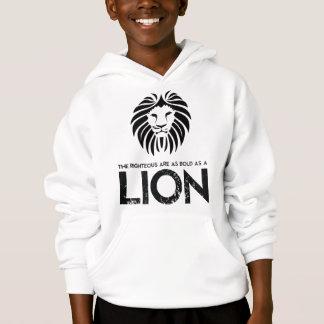 Audacieux comme sweatshirt de chrétien de lion