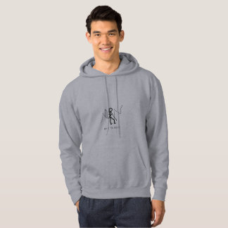 AUGMENTER ICI le sweatshirt à capuchon de sweat -