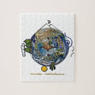 Augmentez la terre de boussole de l'âme de notre puzzle