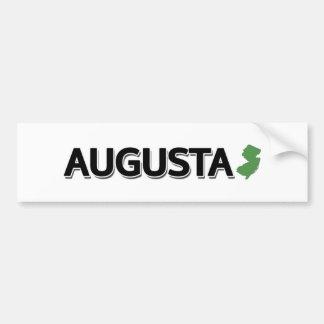 Augusta, New Jersey Autocollant De Voiture